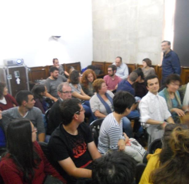 Debatint Amb El Públic Després De Les Projeccions
