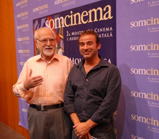 Els Homenatjats: El Productor Josep Anton Pérez Giner I L'actor Eduard Fernández