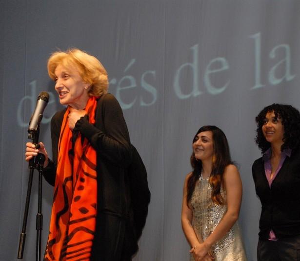 Les Actrius Marisa Paredes, Candela Peña I Vicente N'Dongo