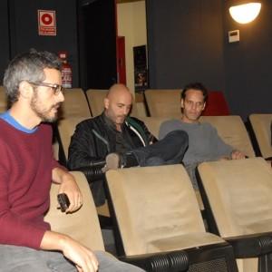 Robert Figueras, Lluís Cordal I Tony Corvillo, Director, Productor I Protagonista De PANZER CHOCOLATE.