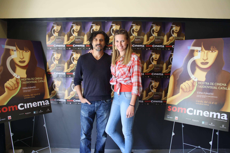 Josep Pozo i Elisabet Terri, de la productora IMMINENT PRODUCTIONS, d'Andorra la Vella.
