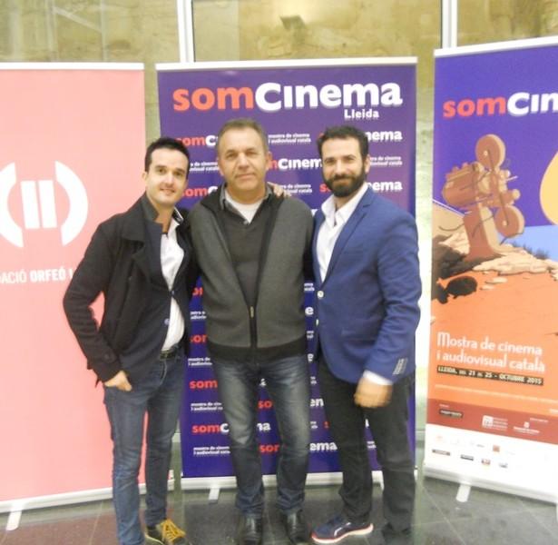 Joaquim Bundó, Director De L'ALTRE COSTAT, Amb Esteve Rovira I José Manuel Serrano