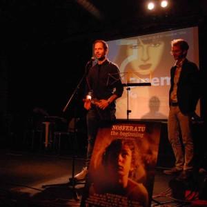 Robert Garcia Presentant El Teaser Del Seu Projecte NOSFERATU, L'ORIGEN.