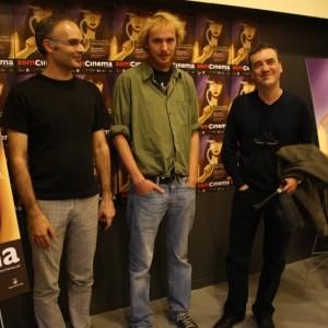 Joan Montón, Director De EL PODER DE LA MÚSICA, MÉS ENLLÀ DE MOZART I Guillermo E. Chaia, Director De SÓLO PARA SUPERVIVIENTES.