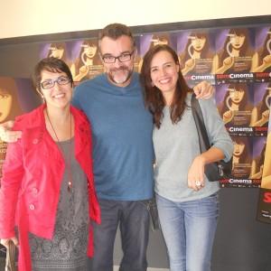 Anna Mª Bofarull, Directora I Productora; Jesús Monllaó, Director I Mercè Rovira, Actriu A L'Espai Funatic.