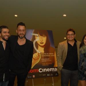 Jordi Celma, Director; David Besora, Productor I Els Actors Gemma Castell I Albert García.