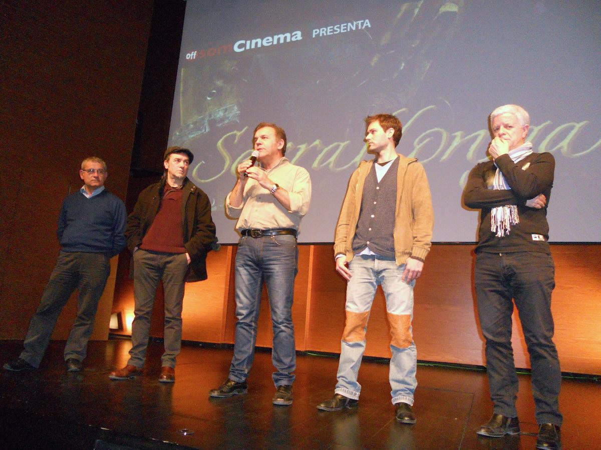 Excel·lent Sessió Off Som Cinema Amb SERRALLONGA I El Seu Col·loqui Posterior