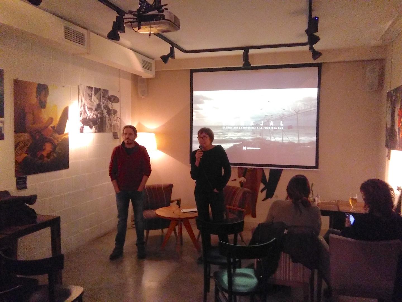 El Beat Cafè I Soul De Lleida Acull La Projecció De «Tarajal, Desmuntant La Impunitat De La Frontera Del Sud»